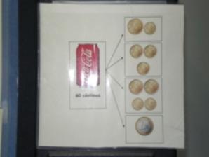 Monedas Coca Cola